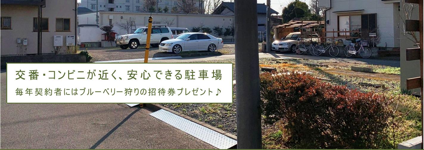 萬田駐車場全体